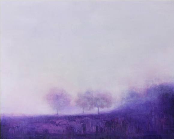 이우현, '녹턴 02'. 72.5 x 90.5cm, 캔버스에 유화. 2013. (사진 = 갤러리일호)